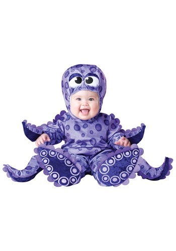 Tiny Tentacles Baby Octopus Costume
