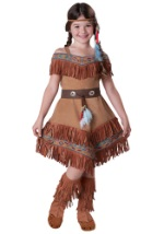 Girls American Indian Maiden Costume