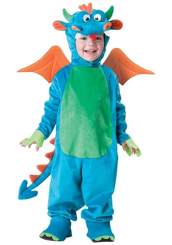 Toddler Delightful Dragon Costume