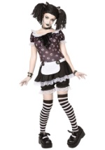 Womens Plus Size Gothic Rag Doll Costume