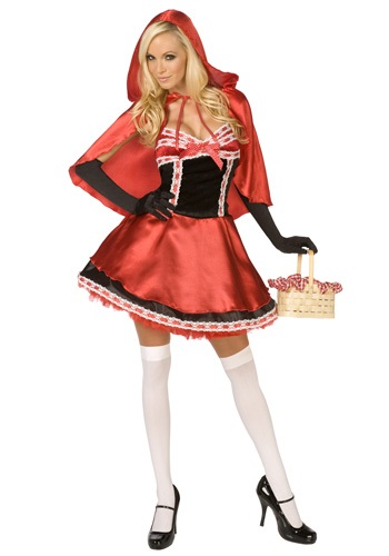 Womens Red Hot Riding Hood Costume