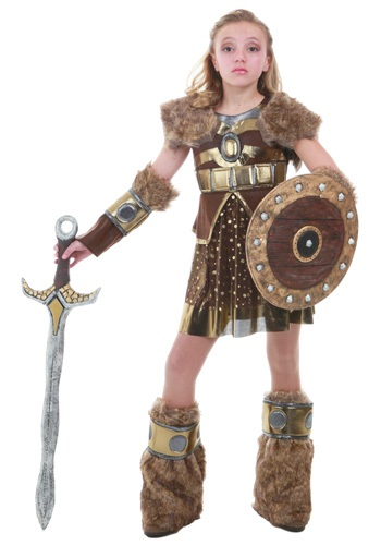 Tween Hildegarde Viking Costume