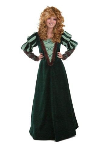 Ladies Courageous Forest Princess Costume