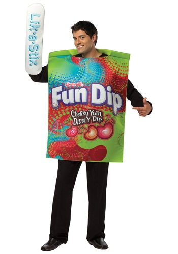 Adult Fun Dip Candy Costume