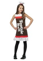 Girls Sweet Tootsie Roll Dress