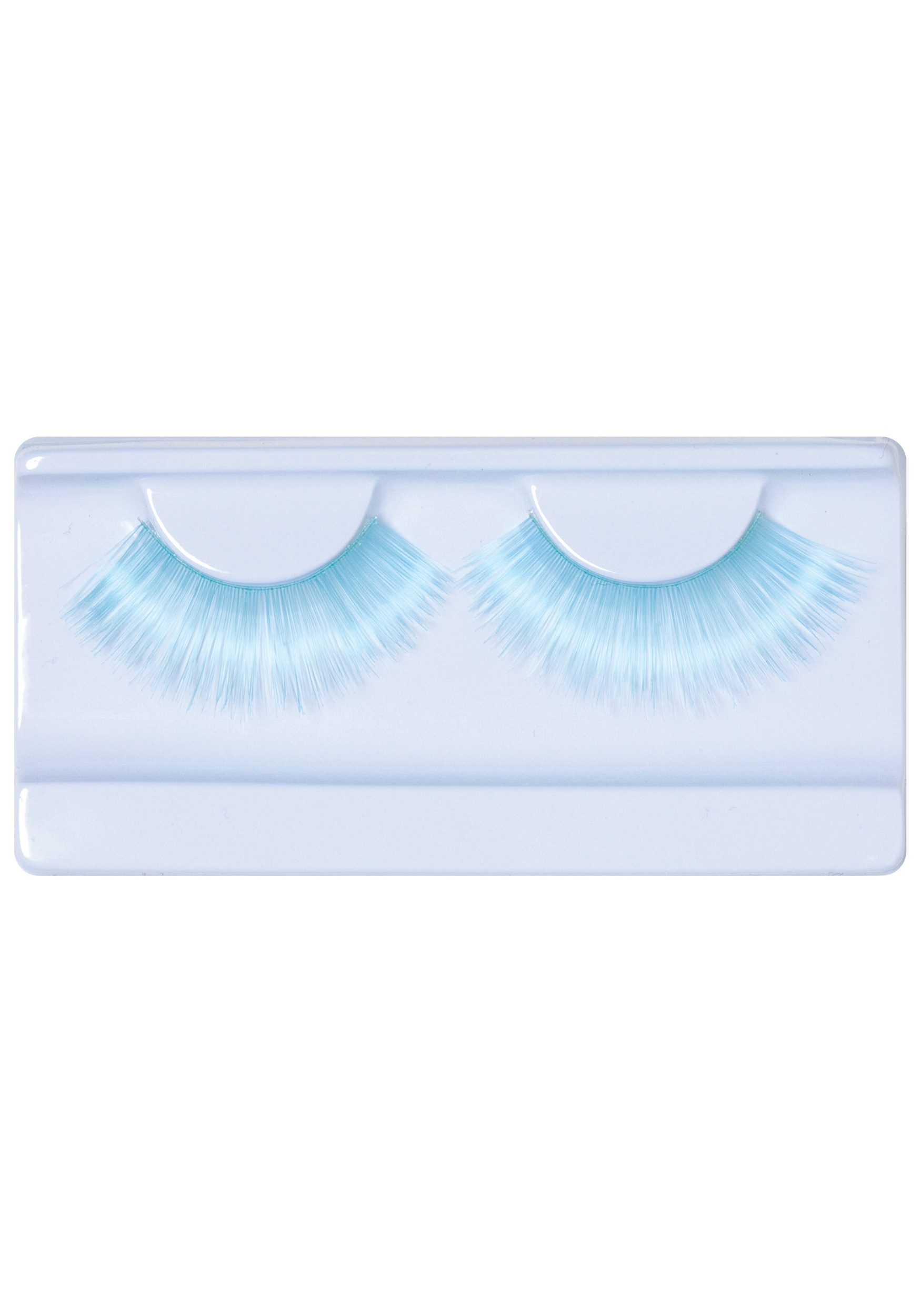 Sky Blue Crayola Crayon Eyelashes - Crayon Accessories, Funny Costumes
