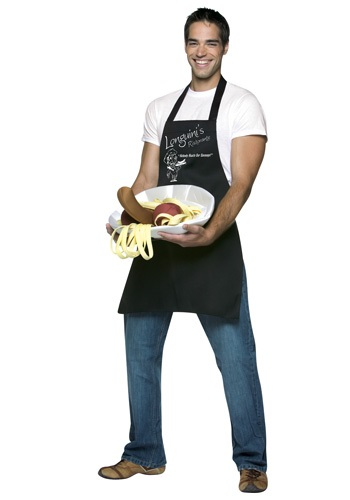 Mens Longuini and Meatballs Costume