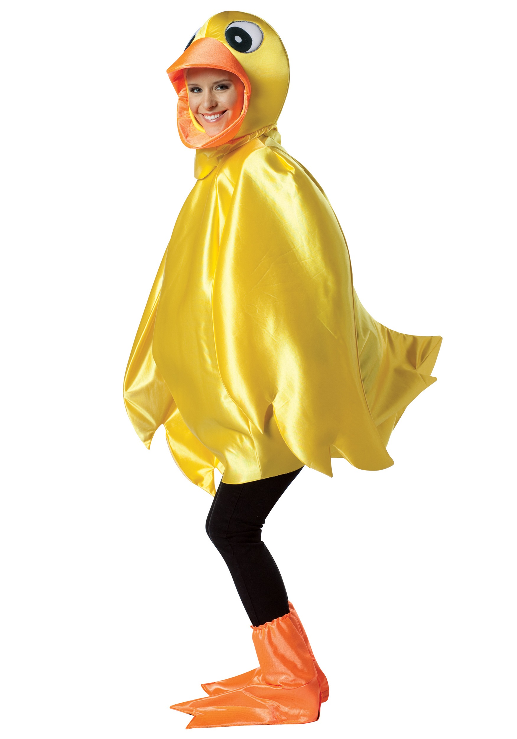 Animals Costumes Adults Adult Rubber Ducky Costume