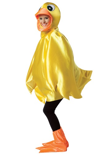 Adult Rubber Ducky Costume