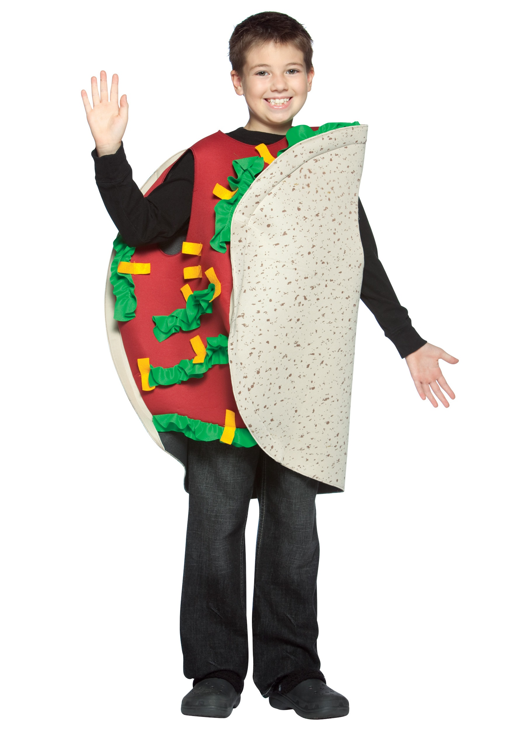 kids taco costume funny childrens mexican food costumes