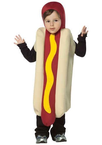 Toddler Hot Dog Costume