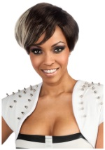 Rihanna Two Tone Short Wig