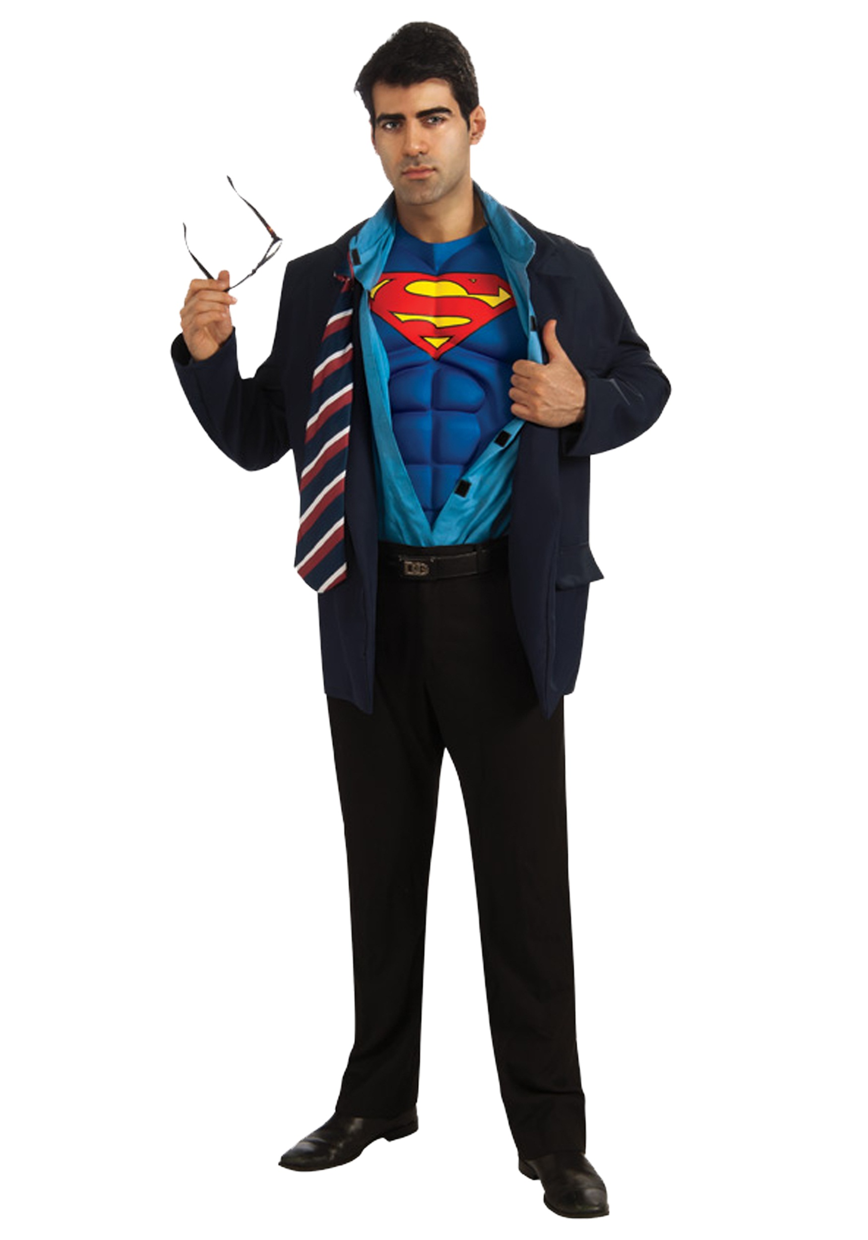 Adult superman clark kent costume superman costumes for Kent superman