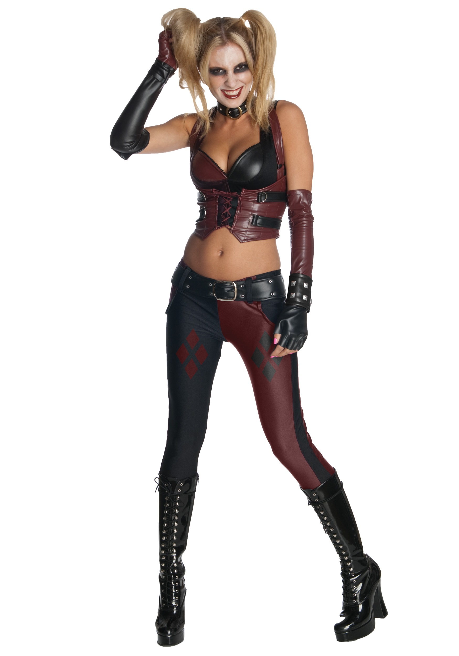 Arkham City Game Harley Quinn Costume Sexy Costumes
