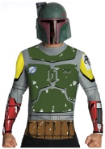 Boba Fett Mens Top and Mask