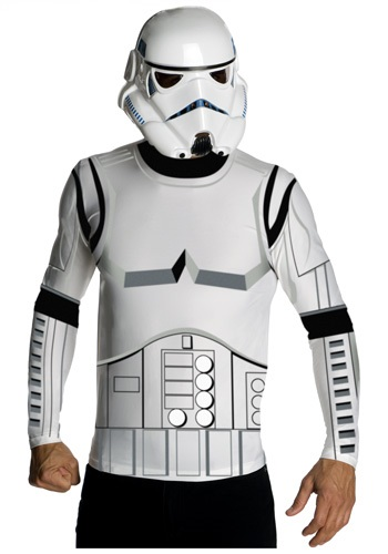 Stormtrooper Mens Top and Mask