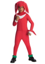 Knuckles Kids Costume