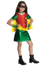 Girls Teen Titans Robin Costume