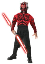Deluxe Kids Muscular Darth Maul Costume