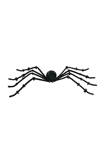 Poseable 50 Inch Black Spider