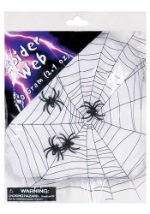 Spider Web Decoration With Spiders