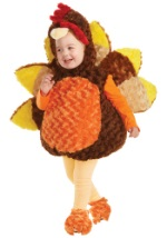 Colorful Toddler Turkey Costume