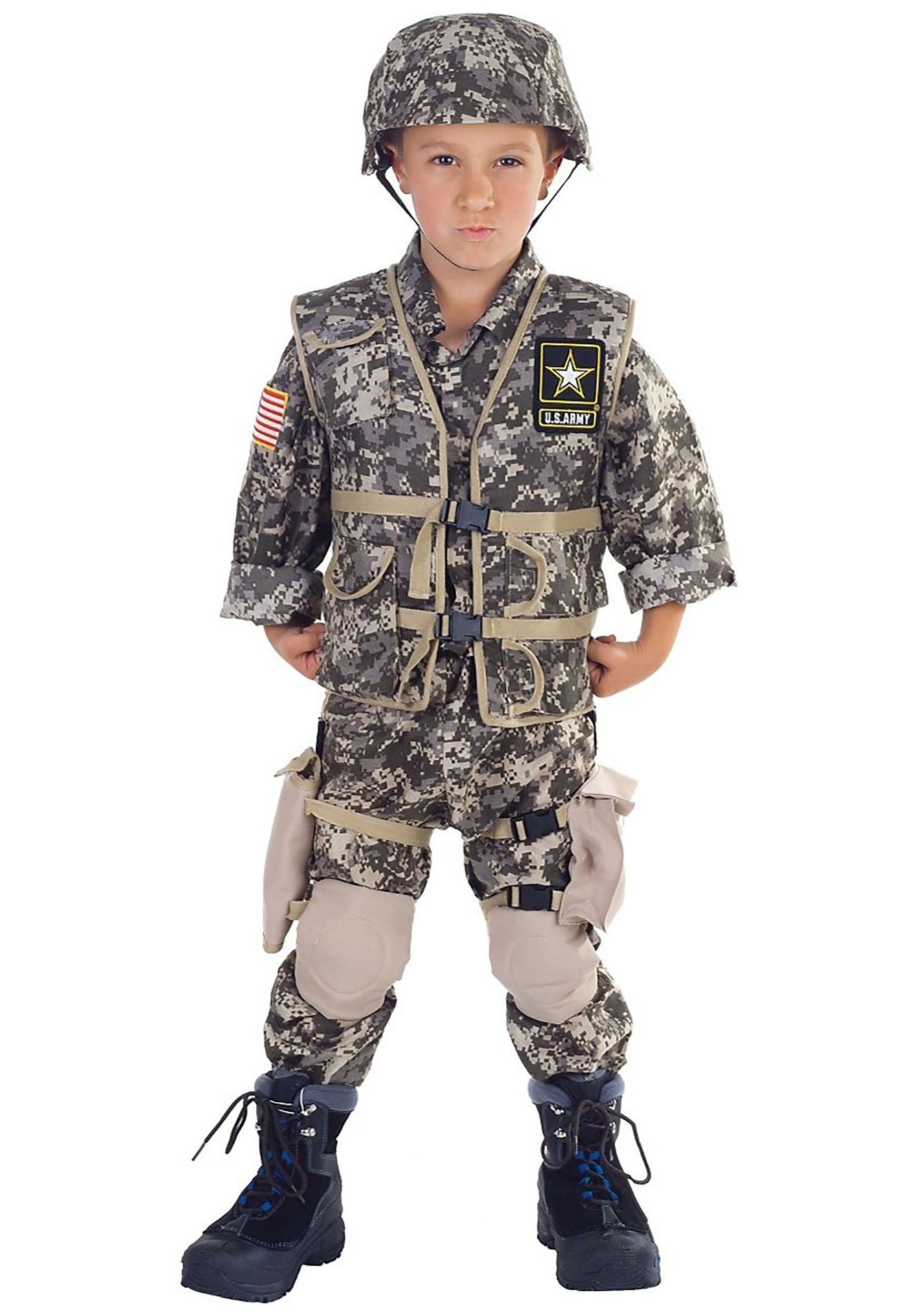 deluxe kids us army ranger costume
