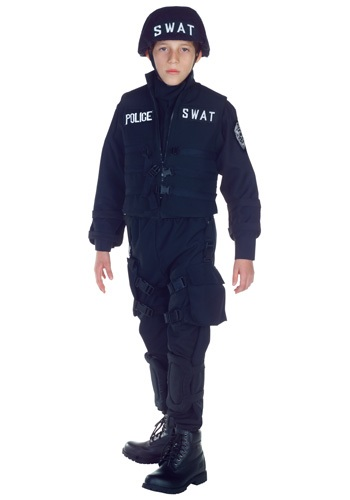 SWAT Team Costume For Kids