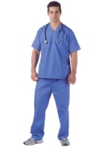 Doctor Scrubs Plus Size Costume