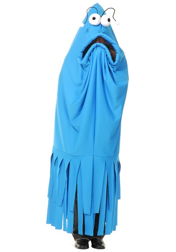 Adult Monster Madness Blue Costume