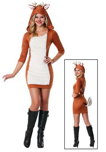 Ladies Sexy Doe Costume