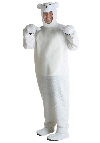 Polar Bear CostumeFor Adults