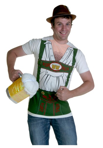 Octobeerfest T-Shirt Costume For Men