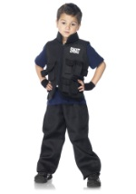 Kids SWAT Team Police Officer Costume