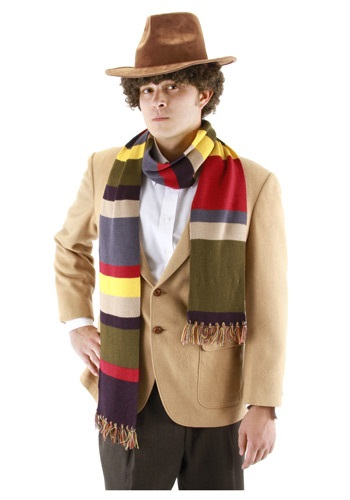 4th Doctor Who Short Scarf