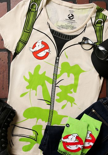 Ghostbusters Costume T-Shirt For Women