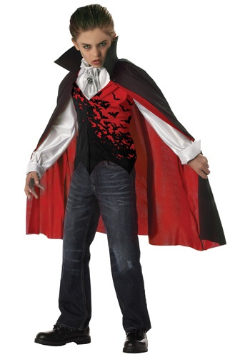 Childrens Dark Vampire Costume