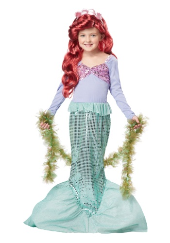 Kids Lil Mermaid Costume
