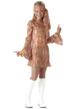 Kids Disco Girl Costume