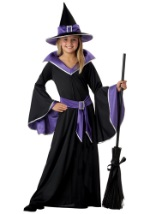 Girls Glamorous Witch Costume