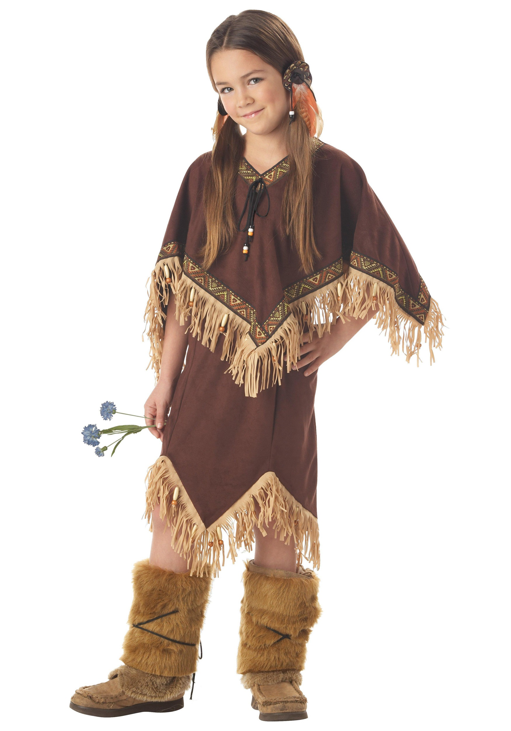 Indian Princess Child Costume  sc 1 st  Halloween Costume Ideas & Indian Princess Child Costume - Indian Girl Costumes