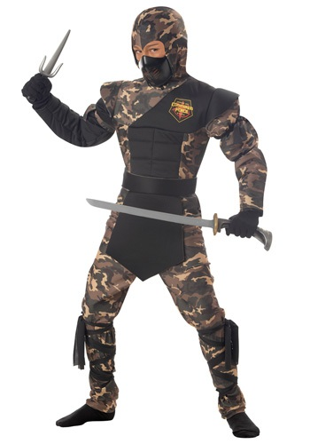Boys Black Ops Ninja Costume