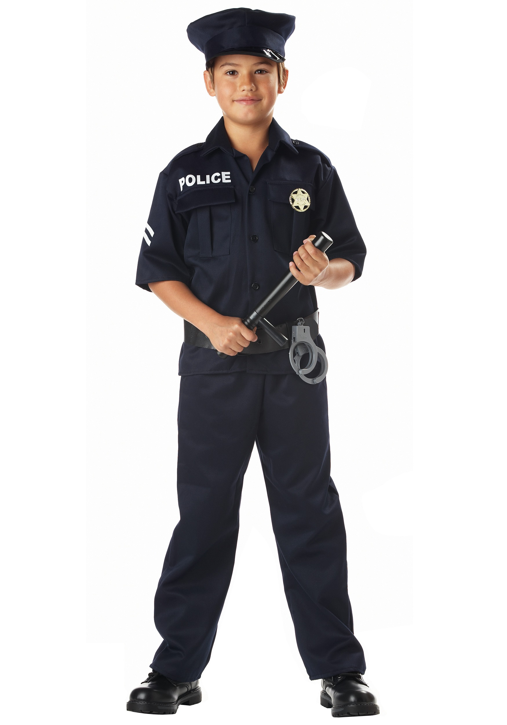 Child Police Costume  sc 1 st  Halloween Costume Ideas : police officer toddler costume  - Germanpascual.Com