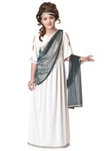 Girls Ancient Goddess Costume