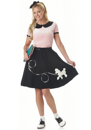 Sock Hop Womens Costume