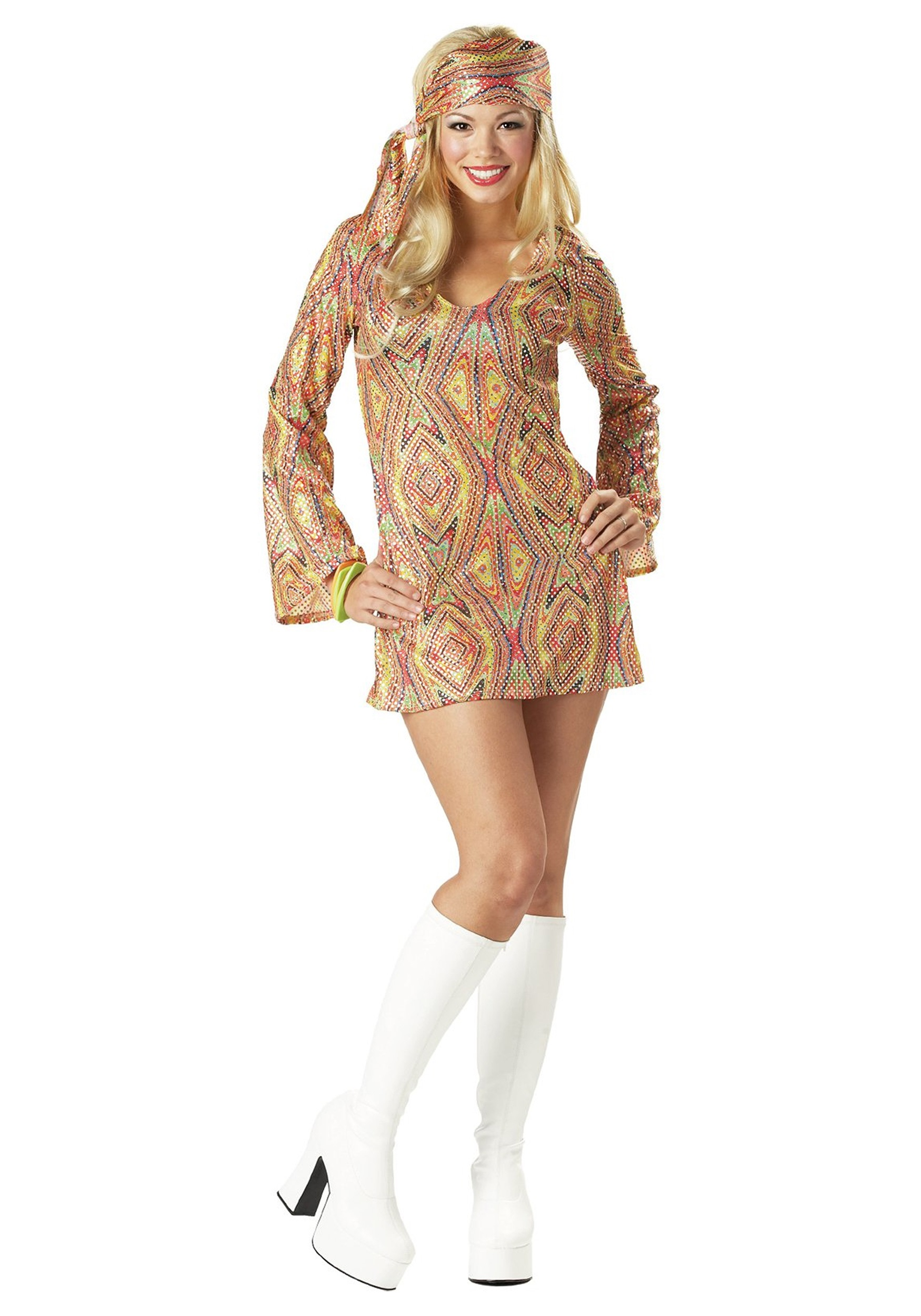 299cea4a474 Disco   Hippie Costume Ideas - 60s and 70s Halloween Costumes