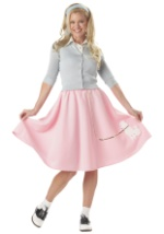 Womens Pink Poodle Skirt