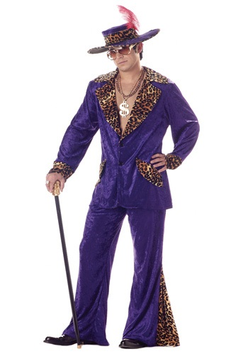 70s Purple Pimp Costume