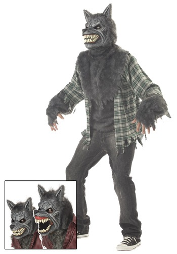 Scary Big Bad Werewolf Costume