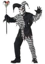 Mens Wicked Jester Costume